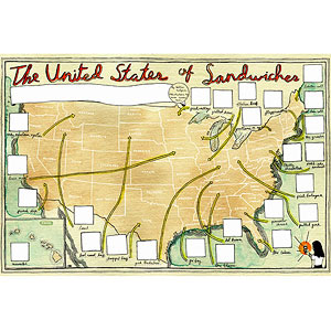 United States of Sandwiches