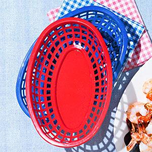 Plastic Serving Baskets