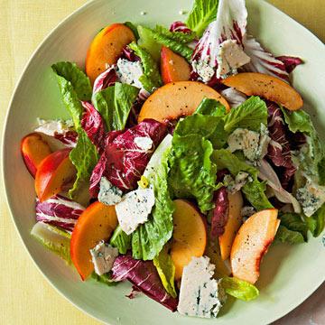 Nectarine & Blue Cheese Salad