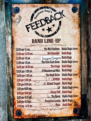 Feedback Party lineup
