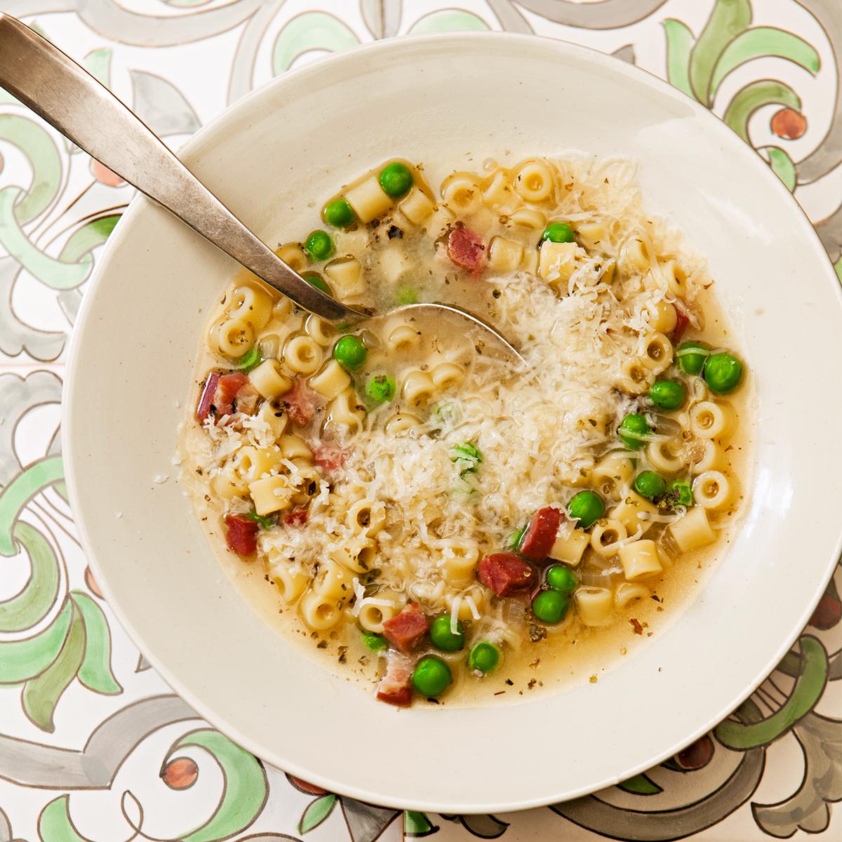 Pasta & Pea Soup