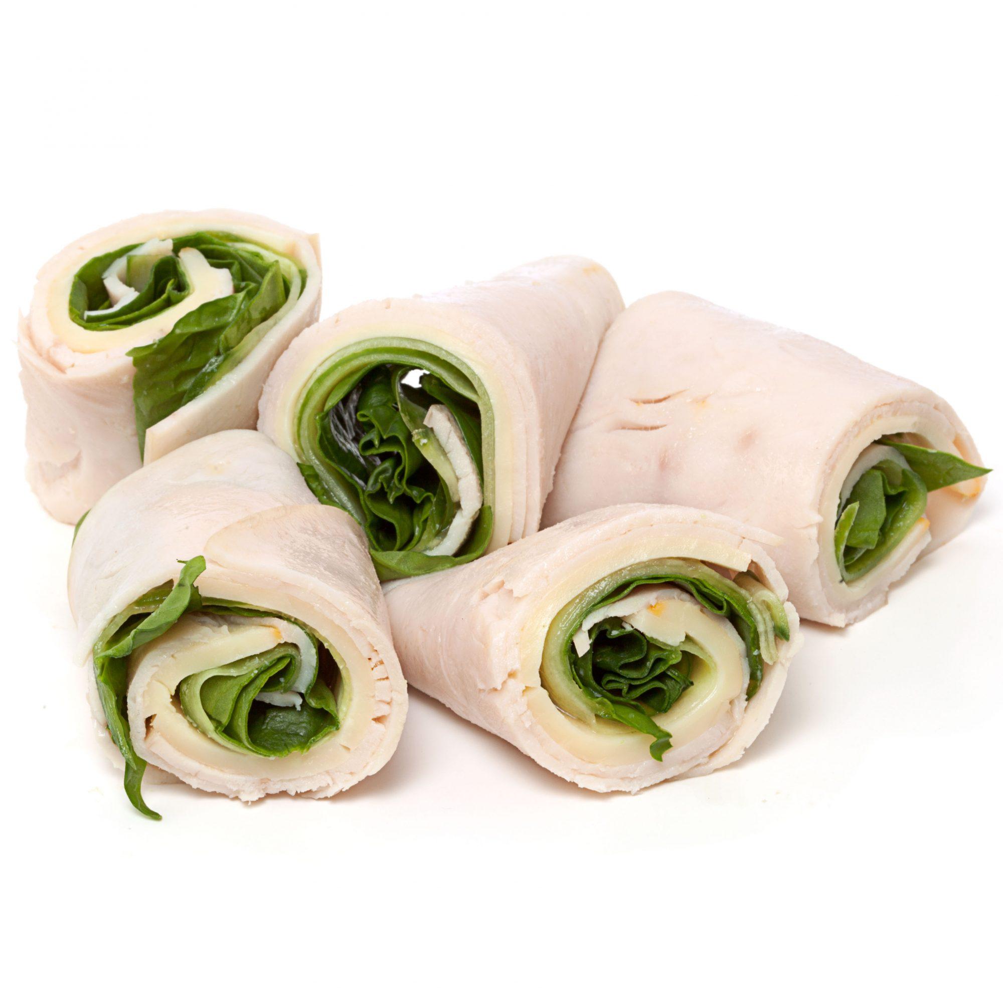 Turkey & Spinach Rollups