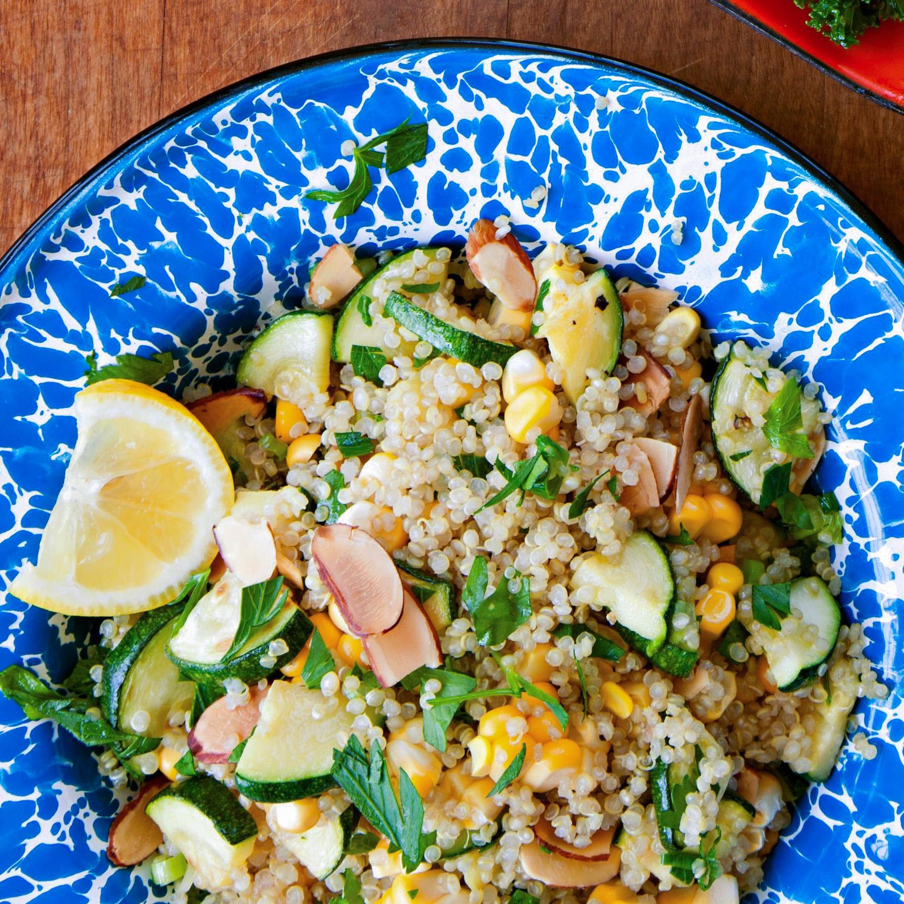 Green & Gold Quinoa Salad