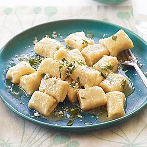 Cheesy Potato Gnocchi