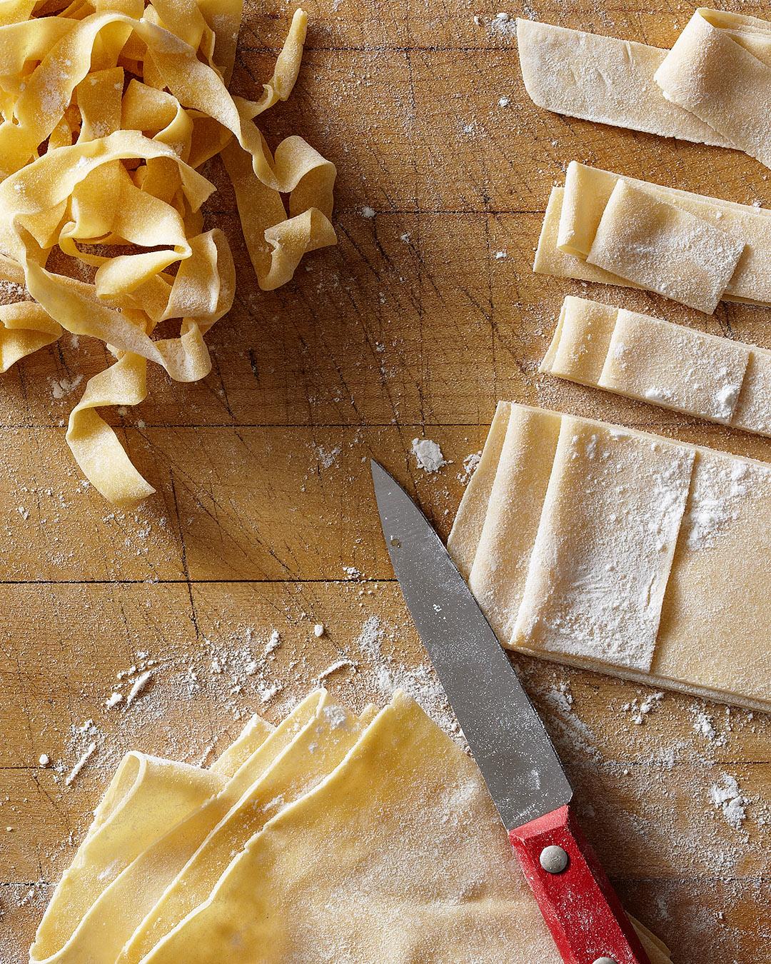 pappardelle wide noodle pasta