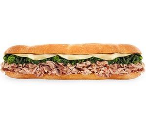Italian roast pork sandwich