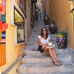 Steps in Sicily