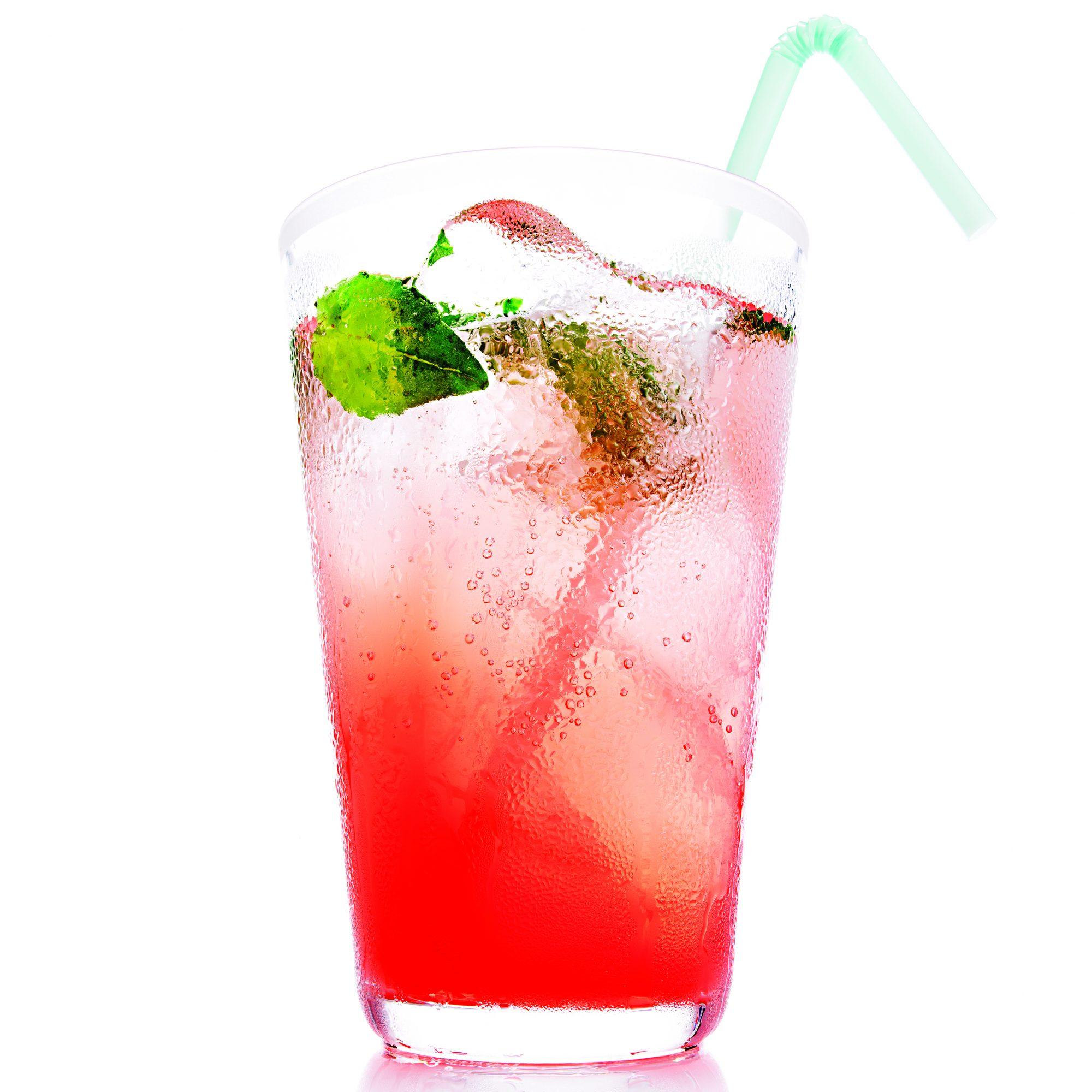 Pink Grapefruit and Basil Mojito Mocktail