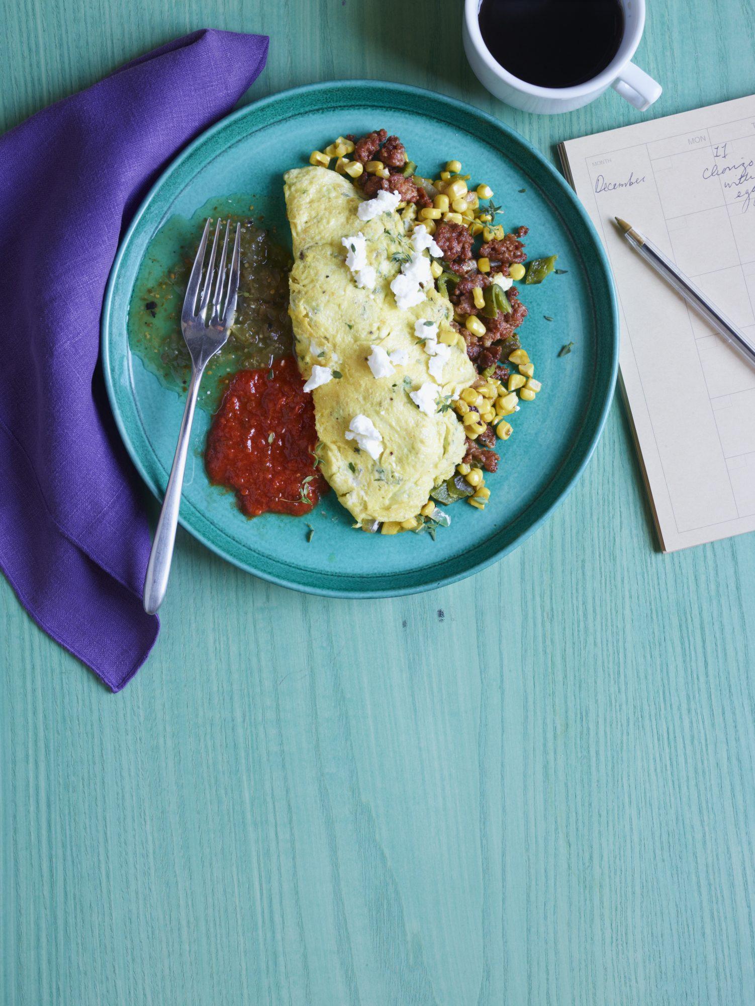 Breakfast Chorizo & Eggs