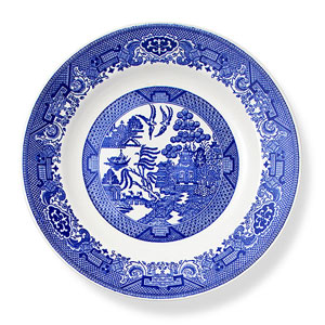 Country chic plate
