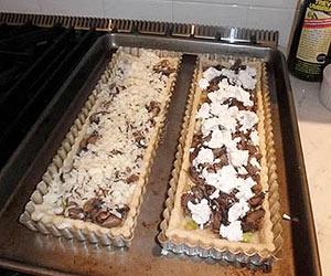 Mushroom & Leek Tarts