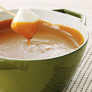 Peanut-Butterscotch Fondue
