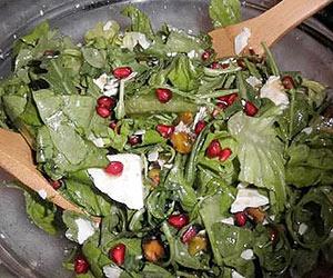 Pistachio-Pomegranate Chopped Salad