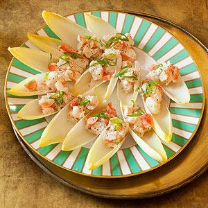"""Shrimp Salad """"Spoons"""""""