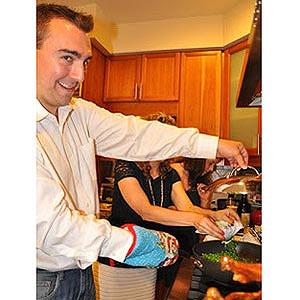 Thanksgiving dinner prep