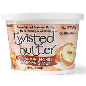 Twisted Cinnamon, Honey & Brown Sugar Butter