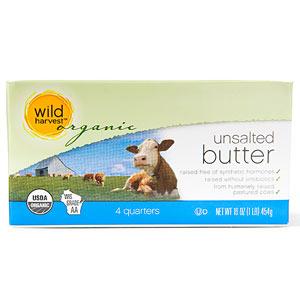 Wild Harvest Organic Unsalted Butter