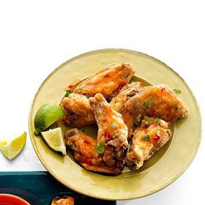 Asian Sweet Chili-Cilantro Wings