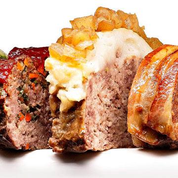Pork, Apple & Potato Meatloaf