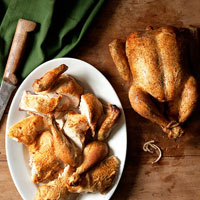 Couldn't Be Easier Roast Chicken