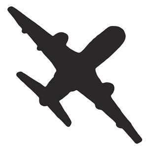 No-Sew Throw Pillow Designs - Airplane