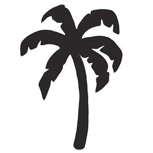 No-Sew Throw Pillow Designs - Palm Tree