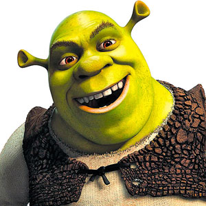 Shrek on Onions