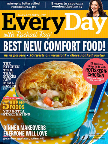 What's In the Issue: March 2013 Every Day with Rachael Ray