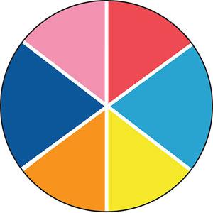 10x10 Pink Trivia Trivet
