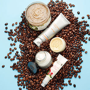 Beauty Products with Caffeine