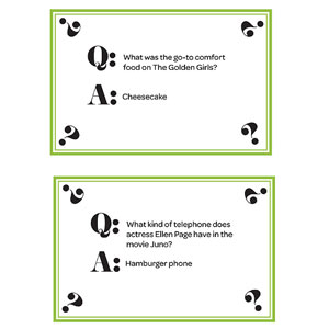 Trivia Cards, Page 3