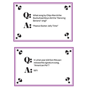 Trivia Cards, Page 4