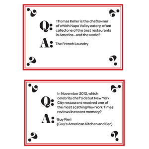 Trivia Cards, Page 6