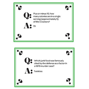 Trivia Cards, Page 9