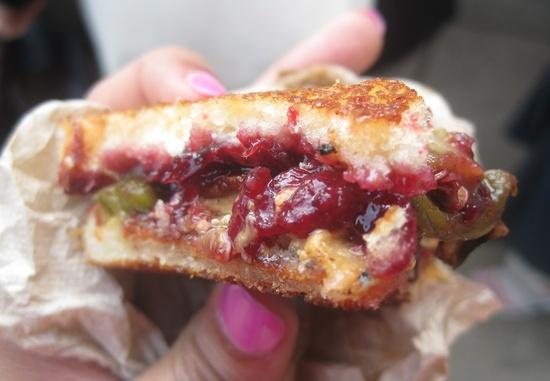 PBJ's Grilled Oregon-Smoked Goat Sandwich