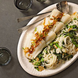 Gingery Fish & Noodles