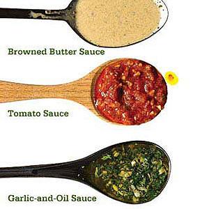 pasta sauces