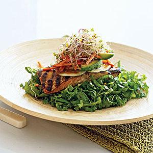 Salmon Salad Stacks