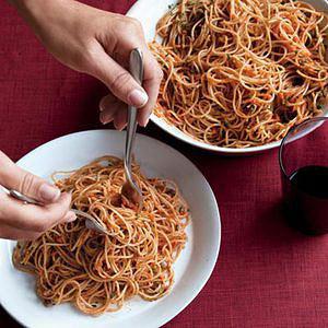 Two-Tomato Arrabbiata Pesto Pasta