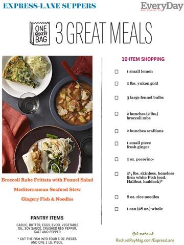 Express Lane Meals, Jan 2013
