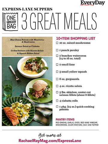 Express Lane Suppers - 3 Great Meals