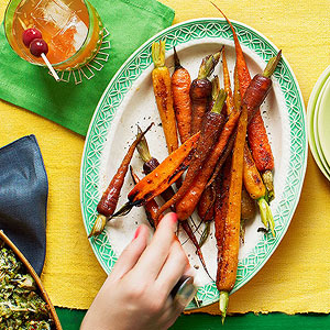 Roasted Carrot Dippers