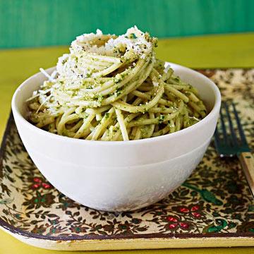 Caesar Pesto Pasta
