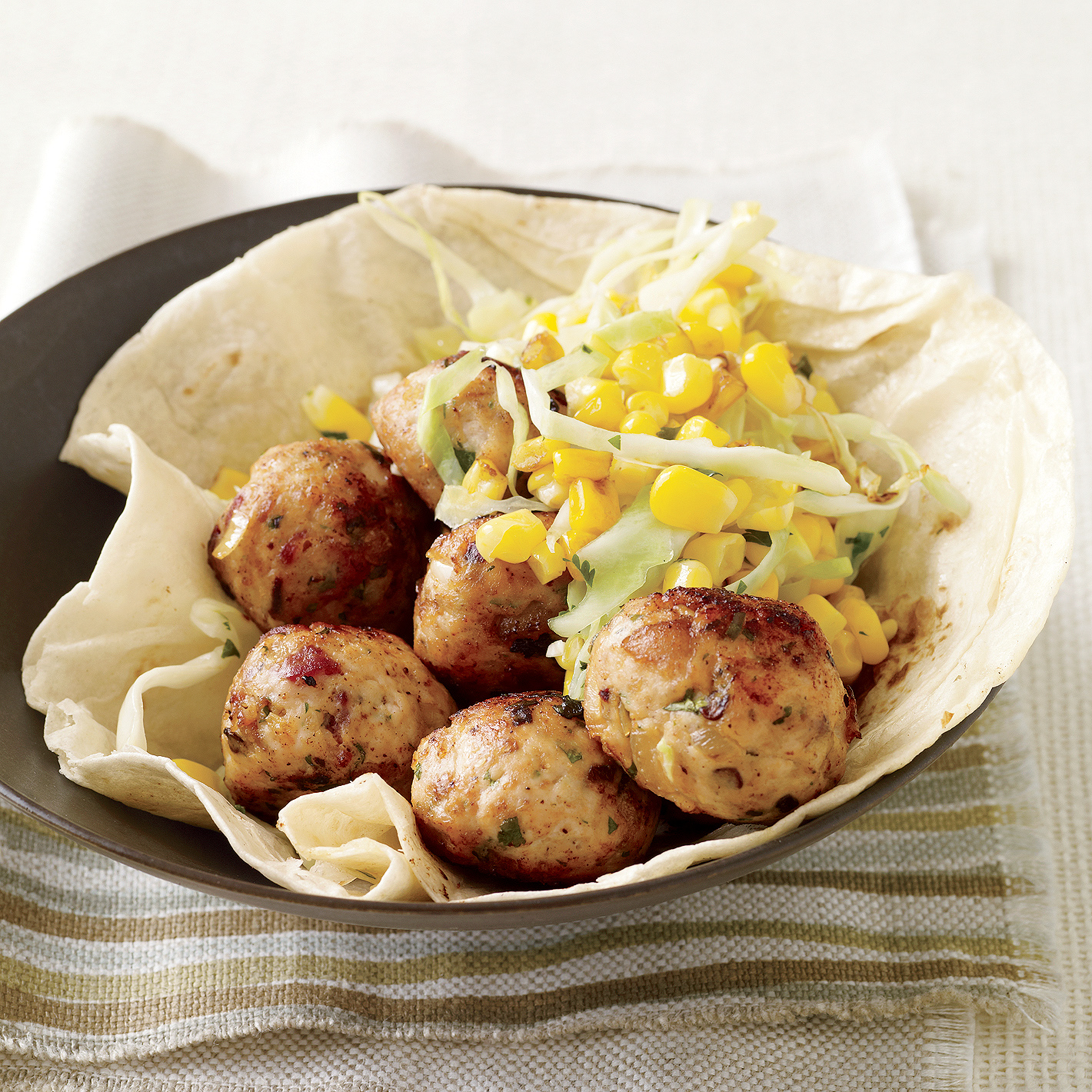 Chipotle-Chicken Meatballs