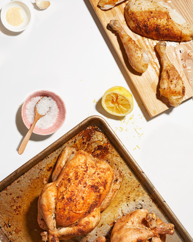 roasted garlic-lemon chicken