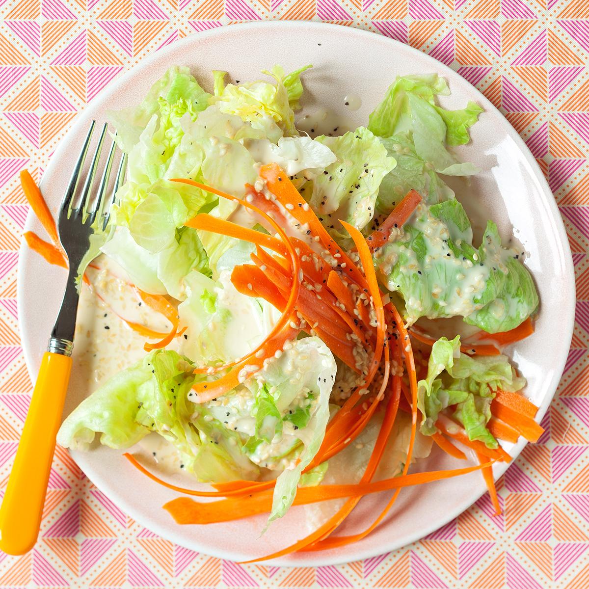 gingered iceberg salad