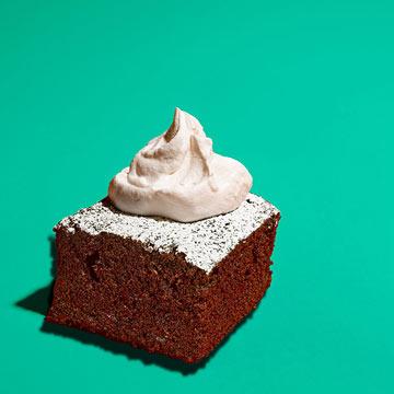 One-Bowl Mocha Cake