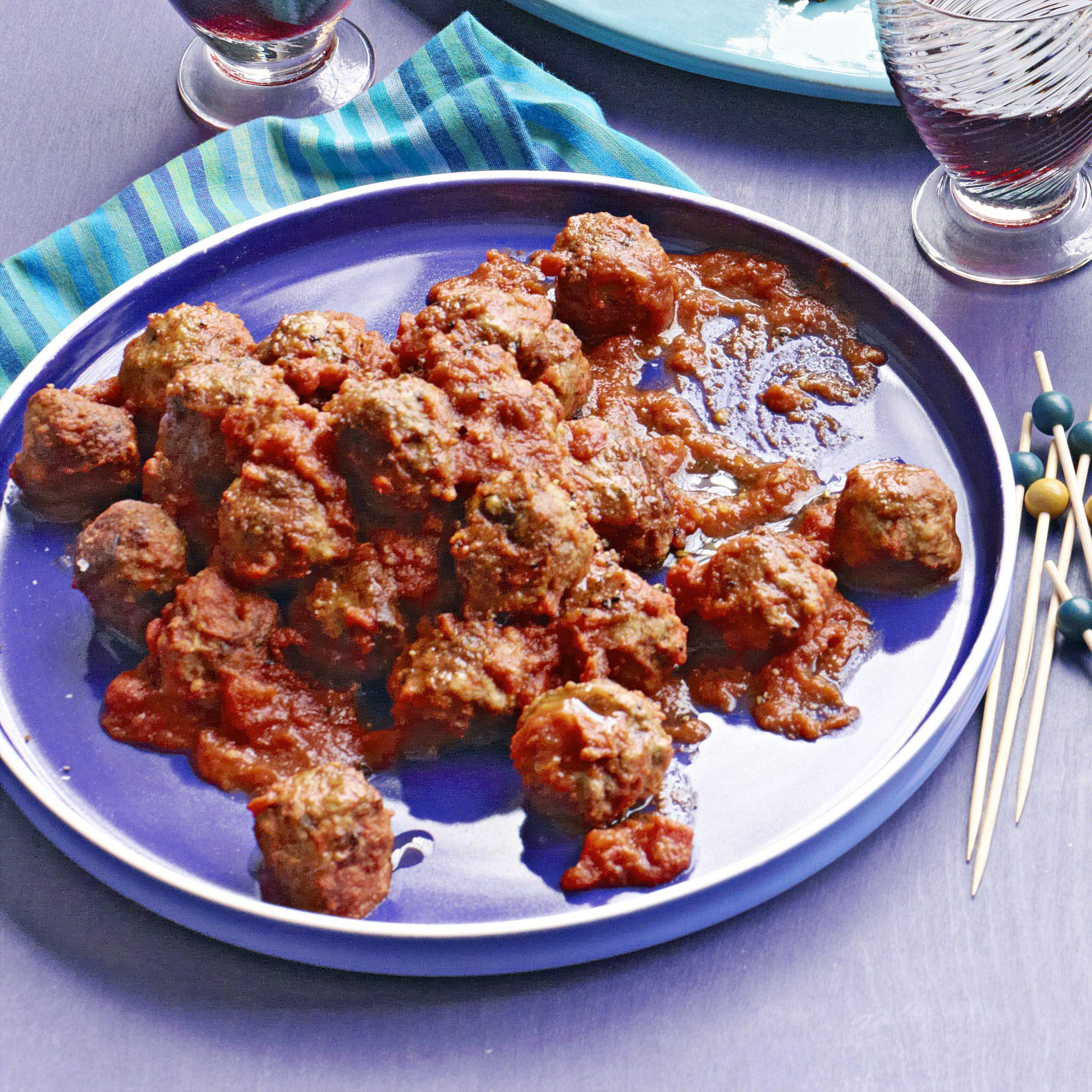 easy cheesy italian meatballs