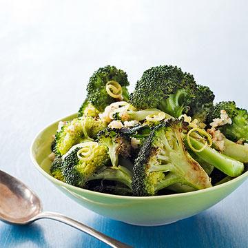 Roasted Broccoli with Toasted Garlic