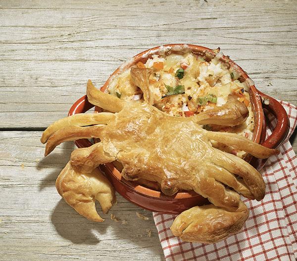 Crab Dip Crab Topper